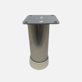Alu.Çizgili Yuv.Ayak 40X40-10Cm Inox
