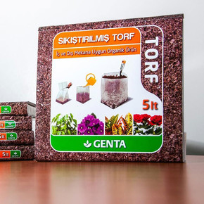 Genta Cocopeat Sıkıştırılmış Torf 5 lt