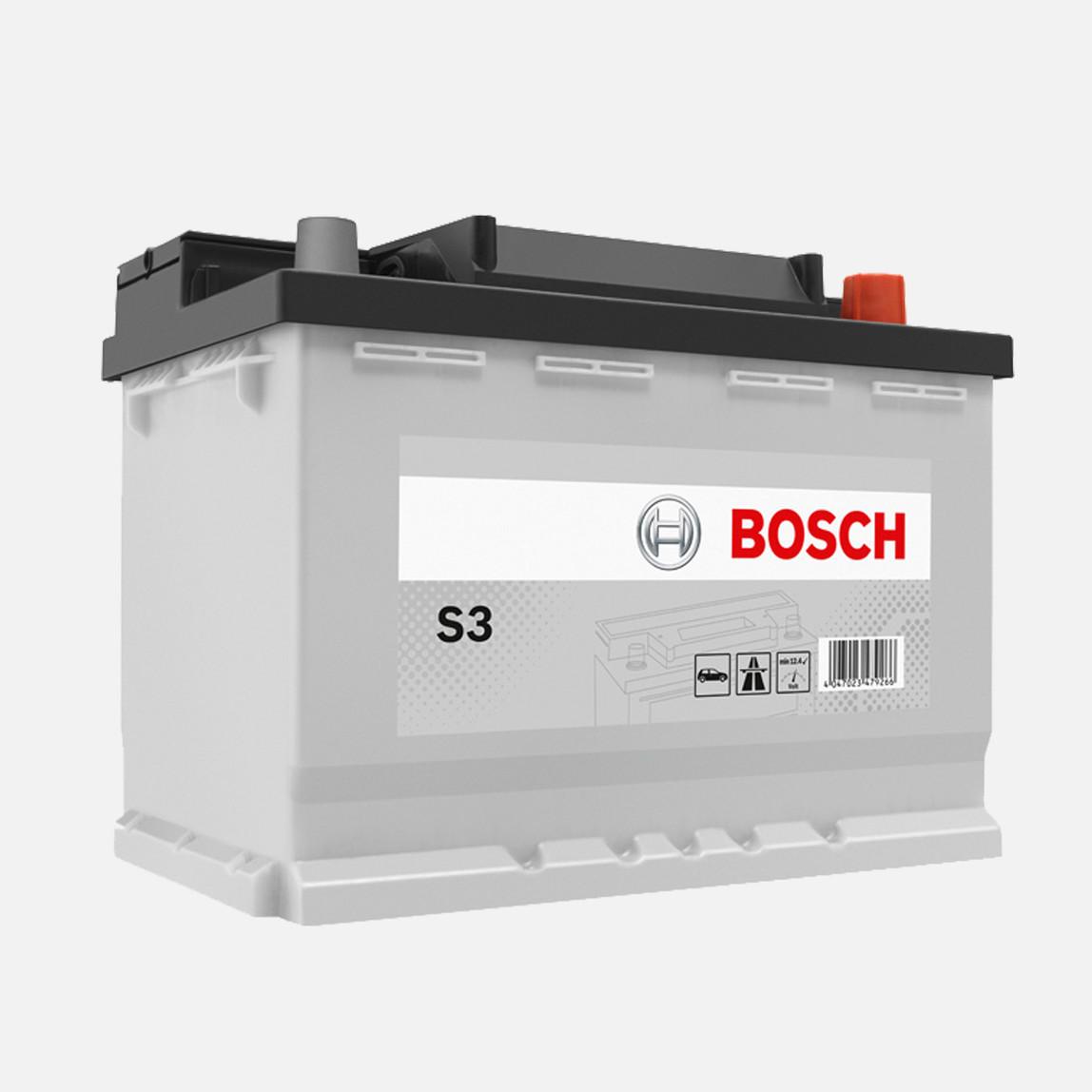 Bosch Marş Aküsü S3 90 Ah