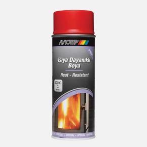 Motip Isıya Dayanıklı Boya Heat Resistant Red