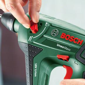 Bosch UneoMaxx 18V Pnömatik SDS Çift Akülü Kırıcı Delici