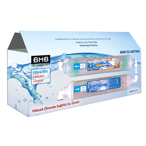 BMB+Alkalin + Detox Filtre değişim Kiti