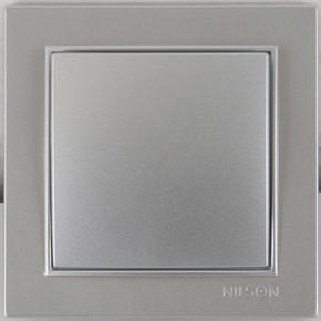 S 100 Anahtar Priz Seti Gümüş Renk