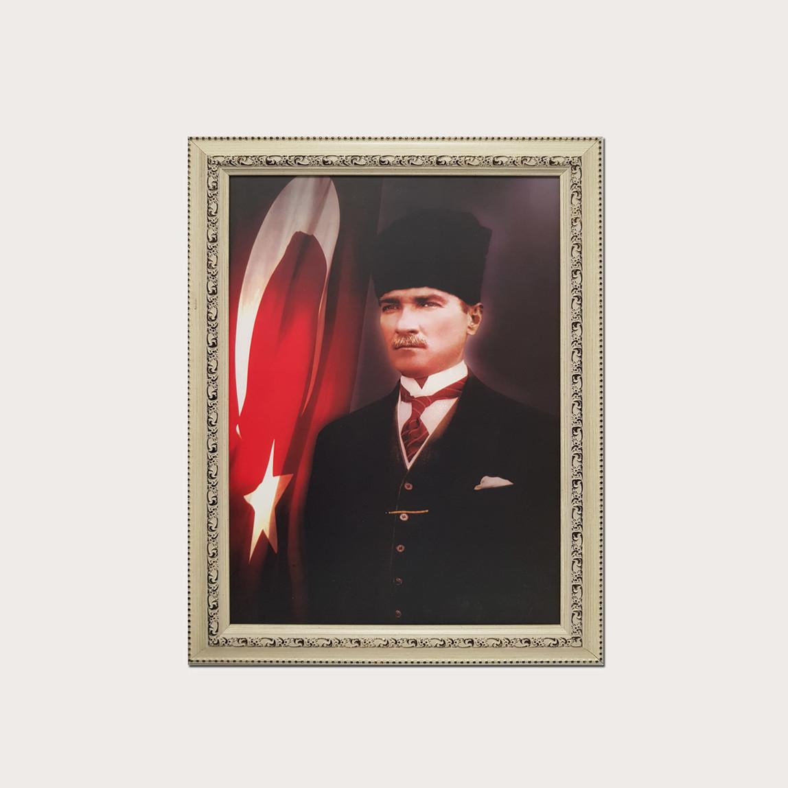 Atatürk 35x50 cm Artprint Çerçeveli Tablo