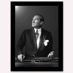 Atatürk 50x70 cm Artprint Çerçeveli Tablo