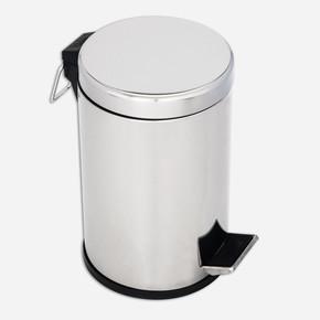Çöp Kovası Pedallı Komple Çelik 12 Lt
