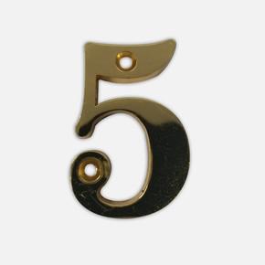 *5* Zamak Rakam, Altın