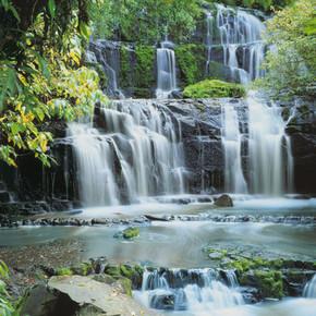 Pura Kaunui Falls 8 Parça Duvar Resmi