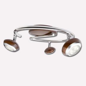 Philips Sepia 3'lü Led Spot Kahverengi