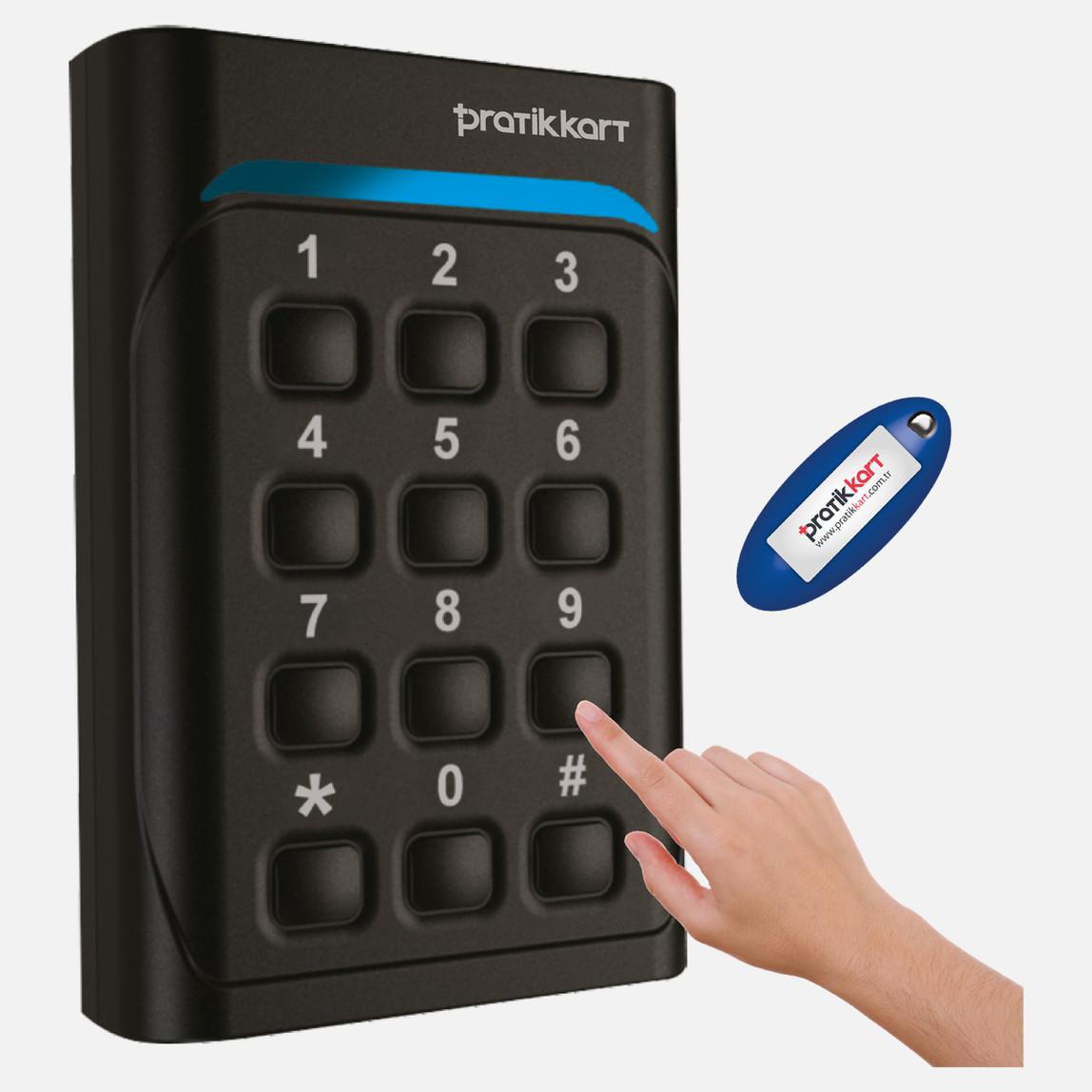 PratikKart P-CP Kart+Şifre Geçiş Sistemi