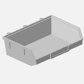 Mini Kutu, 135 X 90 X 40mm, Beyaz