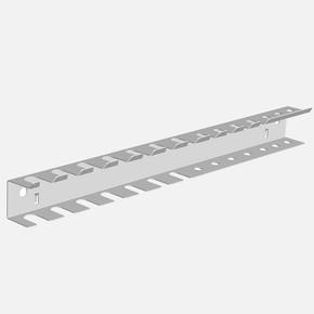 Alet Çıtası İkili 360 mm (Beyaz)