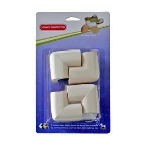 Home Puzzle 4'lü Soft Köşe Koruyucu Bej