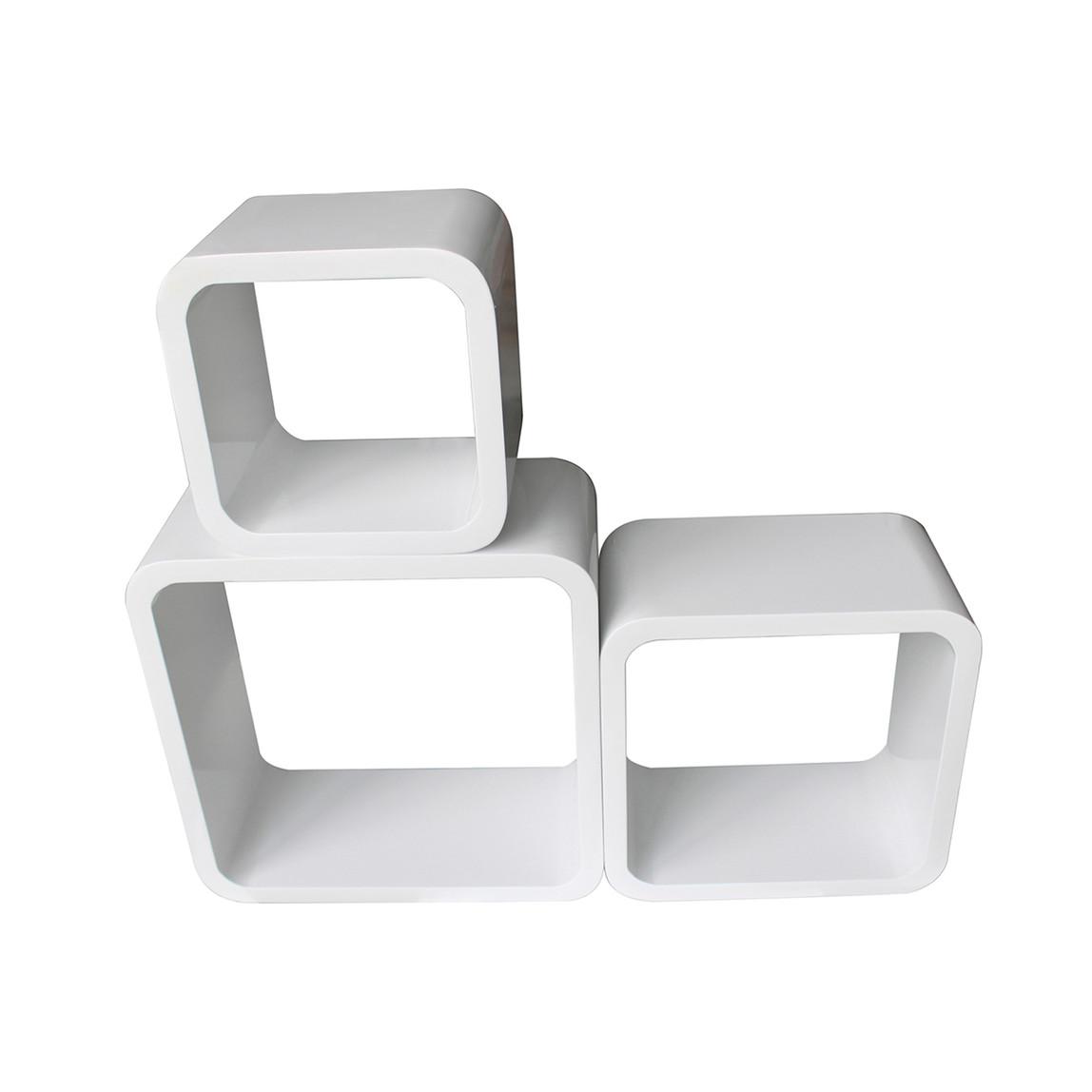 BHP 11060 3'lü Raf Seti Beyaz