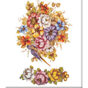 Kolay Transfer 16x22 cm Çiçek