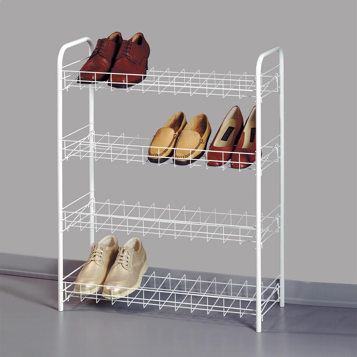 Metaltex Shoe 4 Katlı Ayakkabılık