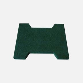 20X25X1,5Cm Klitli Parke Kauçuk Yeşil 1Kutu=1M2