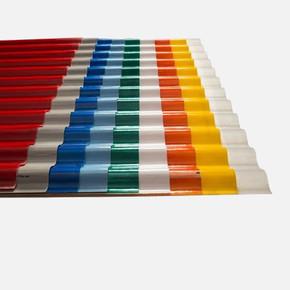 Cam Takviyeli Polyester Çatı Kaplaması Şeffaf Plaka