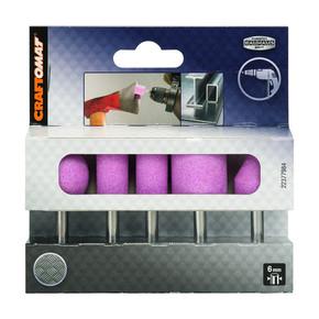 Craftomat Parmak Taşlama Taşı Seti 6 mm