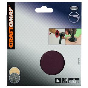 Craftomat Eksantrik Zımpara Kağıdı 120 Kum Çapı: 125 mm
