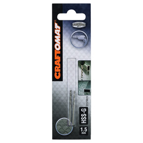Craftomat HSS-G Metal Matkap Ucu 1.5 mm