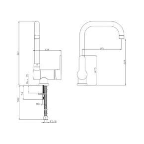Cam Önü Evye Bataryası