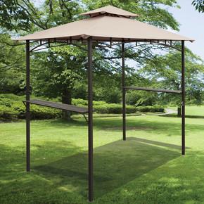 Sunfun Gazebo Parti Çadırı Kahverengi