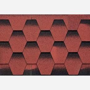 4X4 Petek Shıngle Kırmızı 1Paket=2,61M2