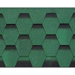 4X4 Petek Shıngle Yeşil 1Paket=2,61M2