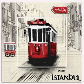 Viko Karre Cities İstiklal Anahtar