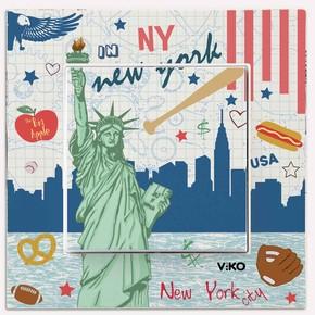 Viko Karre Cities New York Anahtar
