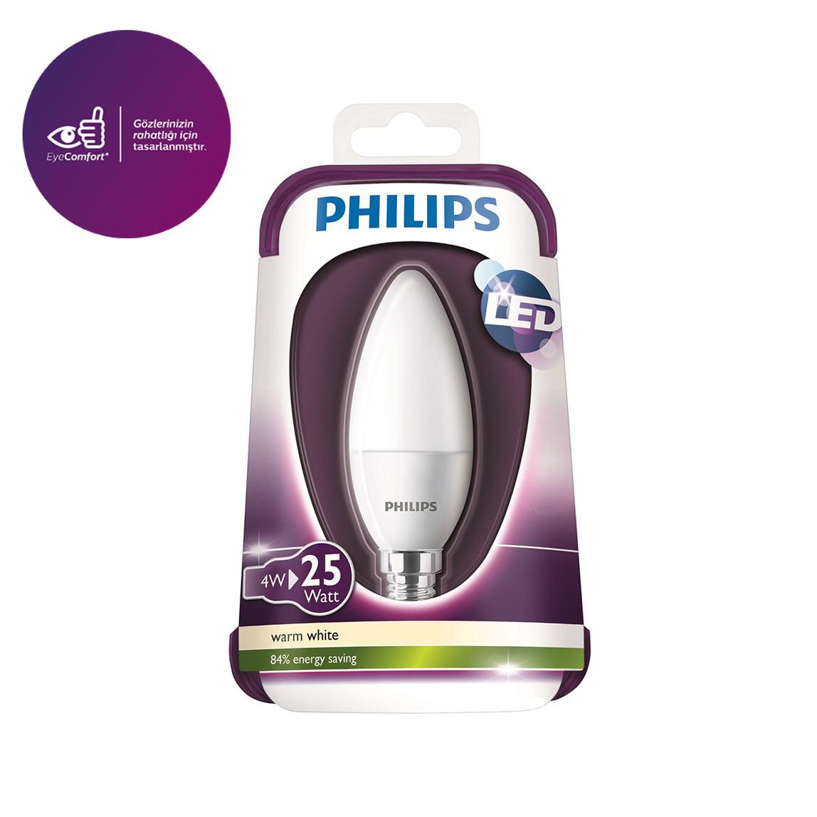 Philips 25W 230V B35 Fr Nd/4 E14 Duy Led Ampul