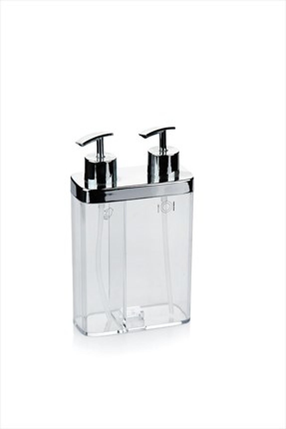 Viva Sıvı Sabunluk Seffaf Krom