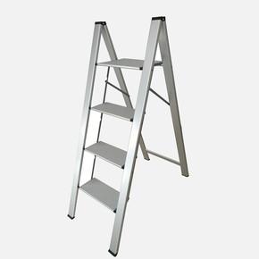 4 Basamaklı Katlanır Alüminyum Merdiven İnce Extra Dar