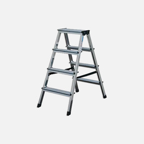 4 Basamaklı Çift Taraflı Aluminyum Merdiven