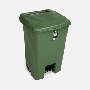 Mono Tone Pedallı Çöp Kovası Yeşil 80 Litre