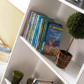 Modern 5 Raflı Kitaplık
