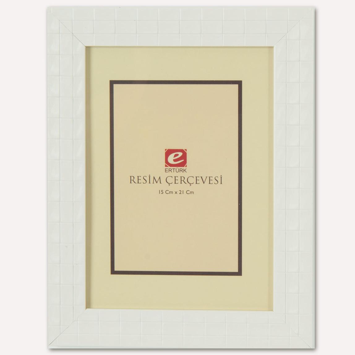 15x21 cm Baklava Desenli Resim Çerçevesi