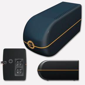 Tunçmatik LITE II 650VA Lineinteractive UPS