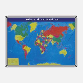 Dünya Siyasi Harita 70x100 cm