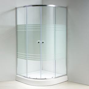 100X100 cm  Oturmalı Duş Teknesi + Kabin