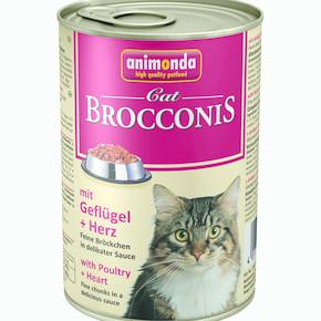 Brocconis Kedi Maması Tavuk Yürek