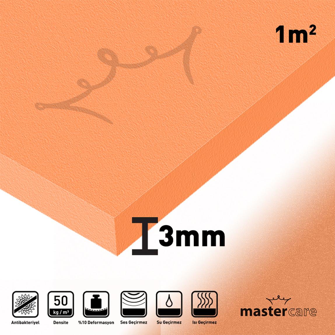 2,5mm (1M2)Mastercare Klasik Seri Ses Yalıtımı Levhası