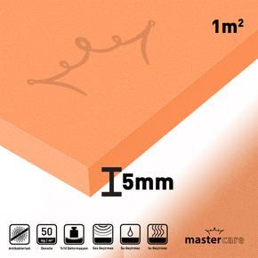 5 mm 1 m² Mastercare Klasik Seri Ses Yalıtım Levhası