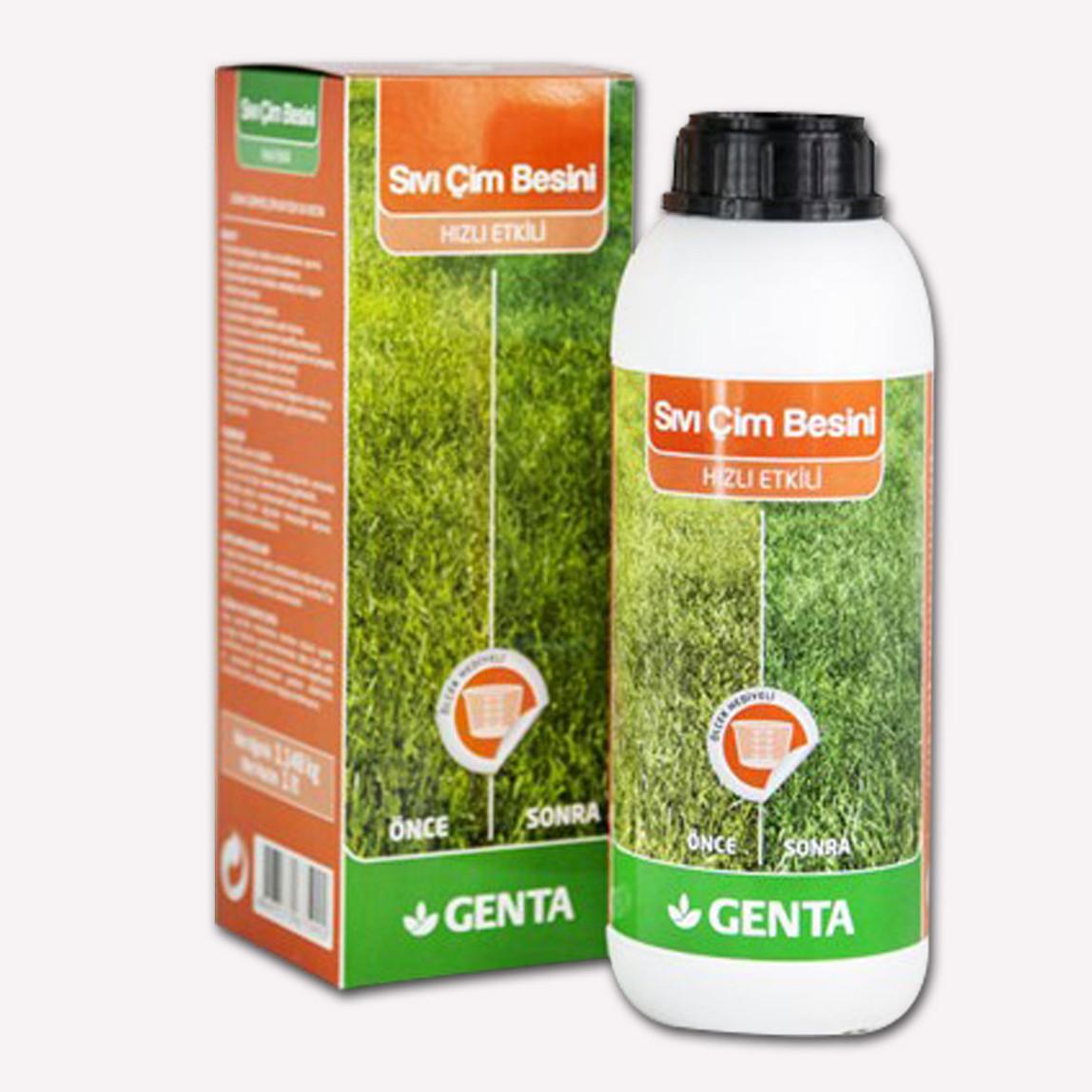Genta Hızlı Etkili Sıvı Çim Besini 1 lt.