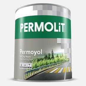 20Kg Permolite Permo Yol Çizgi Boyası Sarı