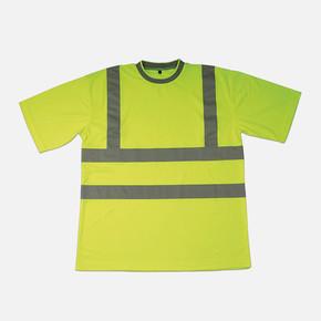 Reflektif T-Shirt Bisiklet Yaka