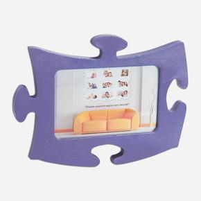Tekli Lila  Puzzle Çerçeve
