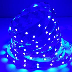 Üç Çipli Dış Mekan Şerit Led 5050 5Mt Mavi
