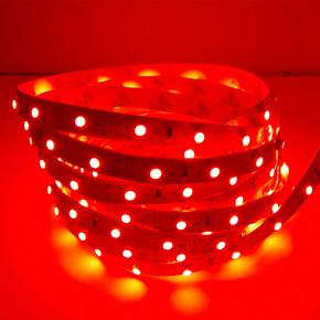 Üç Çipli Dış Mekan Şerit Led 5050 5Mt Kırmızı